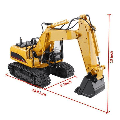 Rc Excavator (Huina 550) Machinery