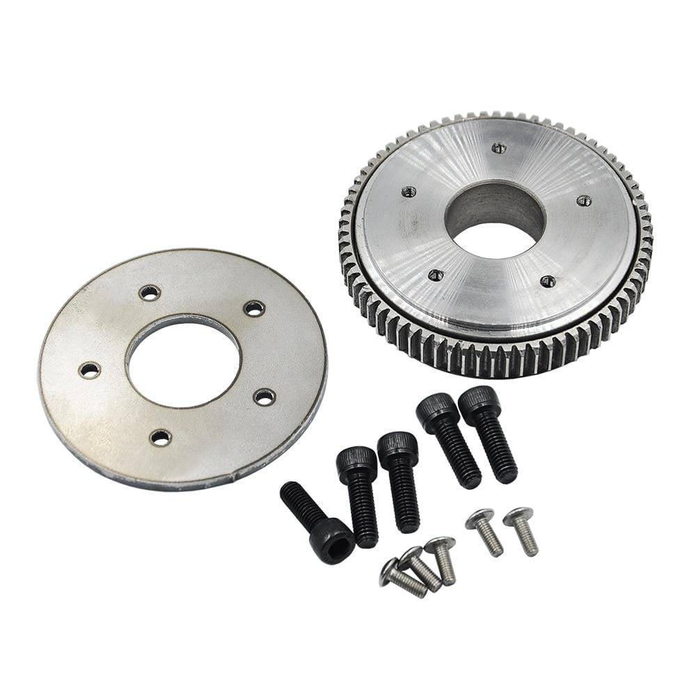 Upgrade Big Rotary Gear Plate Slewing For Huina 580 23 Channel Excavator 1:14 Rc Metal Parts &