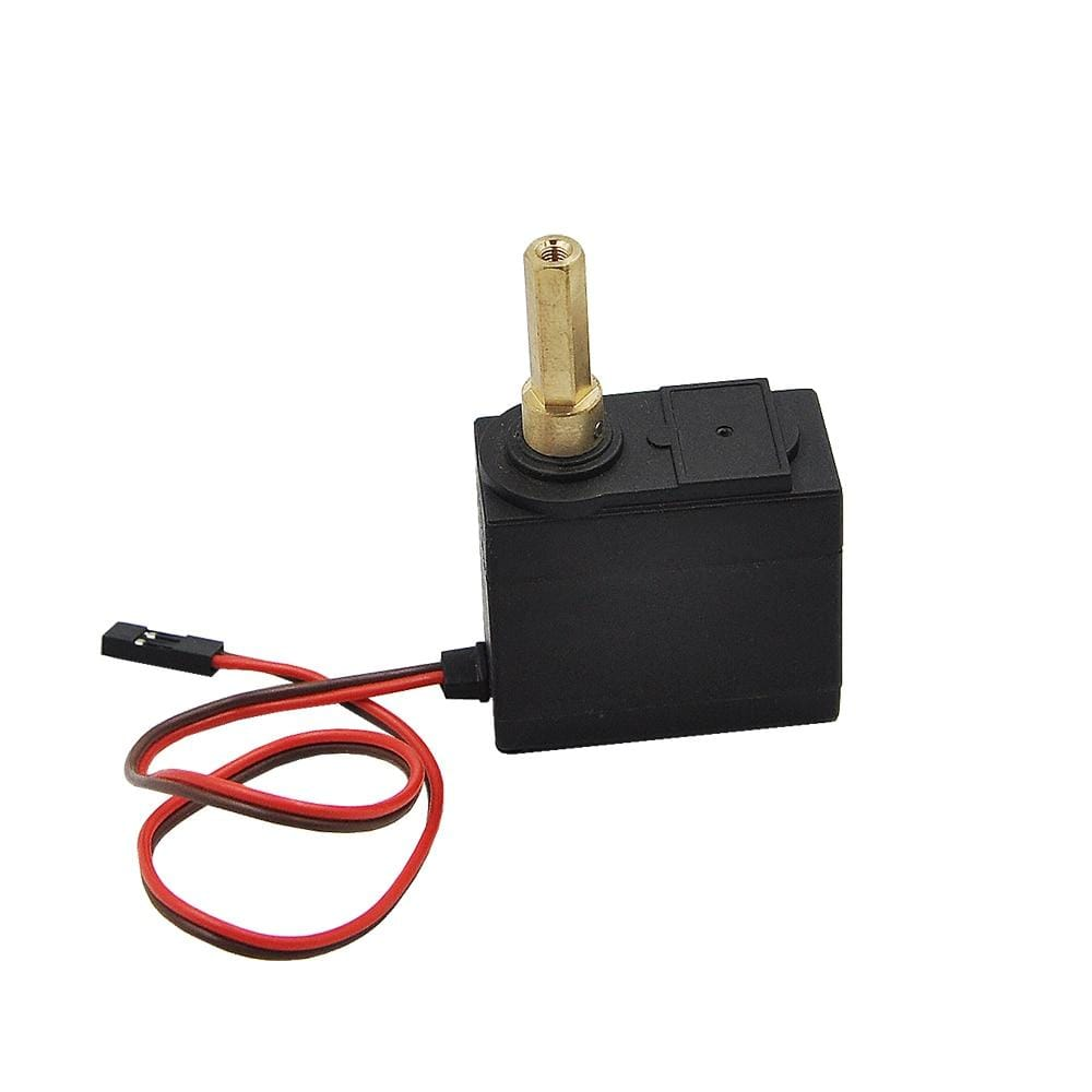 Upgrade Huina 1550/1592 Engine Walking Servo With Metal Shaft For 1/14 Rc Excavator Parts &