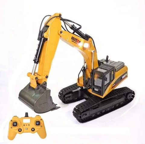 Advanced Metal Rc Excavator (Huina 1580 V4) Construction