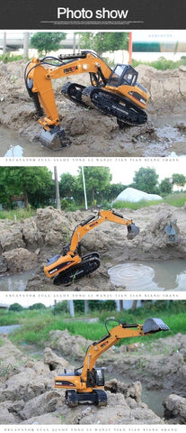 Image of Radio Controlled Excavator