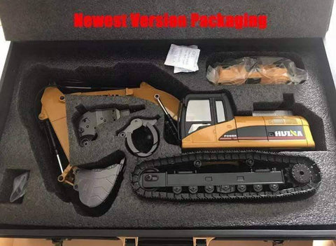 Image of Advanced Metal Rc Excavator (Huina 1580 V4) Construction