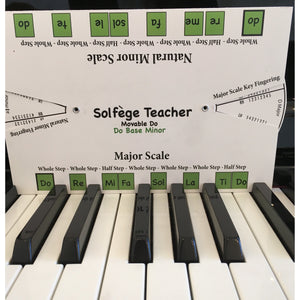 Solfege Teacher (Movable Do, Do Based Minor)
