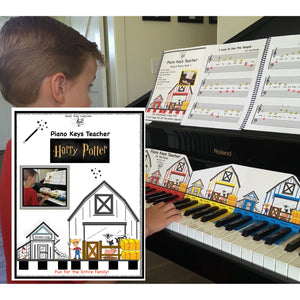 NEW! Piano Keys Teacher Combo Set - Harry Potter (Download)