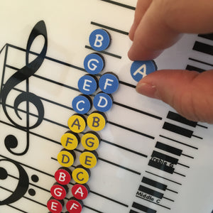Piano Keys Teacher- I Can Learn Music Notes