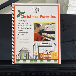 NEW! Piano Keys Teacher Combo Set - Christmas Favorites (Download)