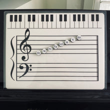 Load image into Gallery viewer, Solfege Magnets (Additional Magnets to the Grand Staff Dry Erase Magnetic Board)