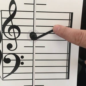 NEW and IMPROVED!   Music Note Teacher (All-In-One Flashcard)