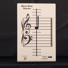 Load image into Gallery viewer, NEW and IMPROVED!   Music Note Teacher (All-In-One Flashcard)