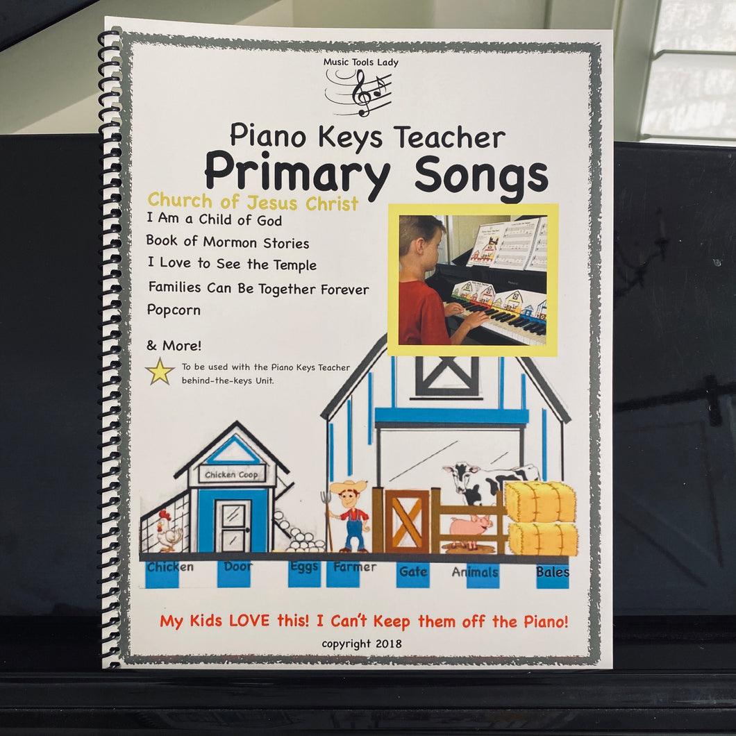 Piano Keys Teacher- Primary Songs