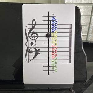 Music Note Teacher- Colored Version