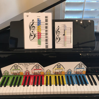 I Can Learn Music Notes!  Piano Keys Teacher addition