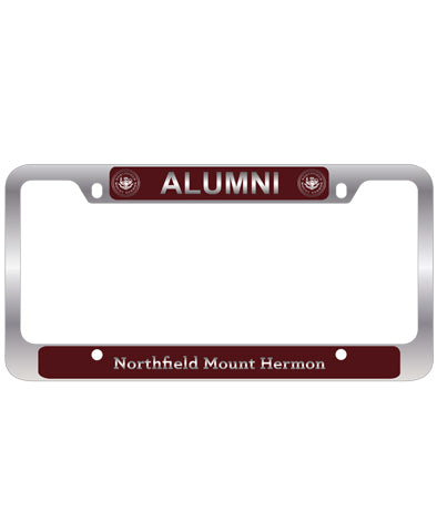 Alumni Laser Engraved License Frame