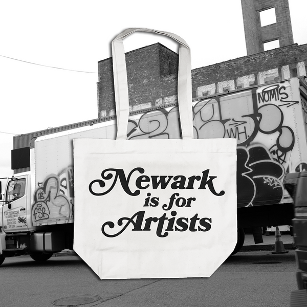 Newark is for Artists Canvas Tote