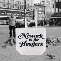 Newark is for Hustlers Canvas Tote