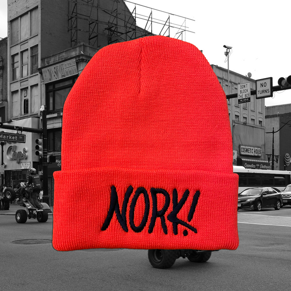 NORK! Orange Beanie