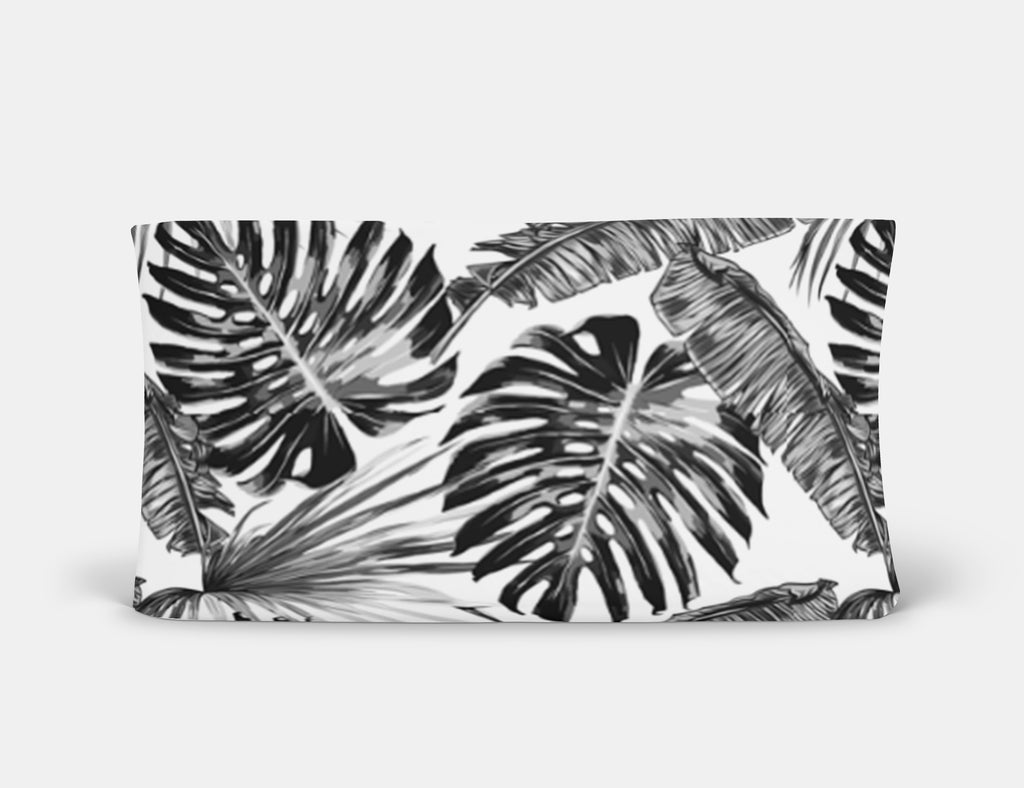 Bae's Black Palm Changing Pad Cover