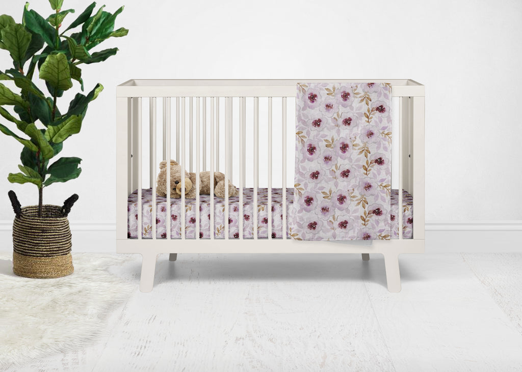 Cherish Floral Crib Bedding