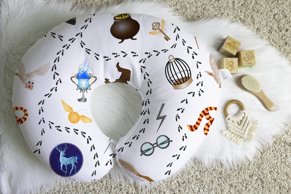 Harry's Wizardy Workshop Boppy® Nursing Pillow Cover