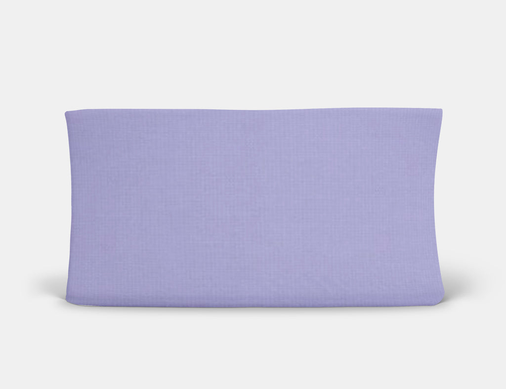 Lavender Changing Pad Cover