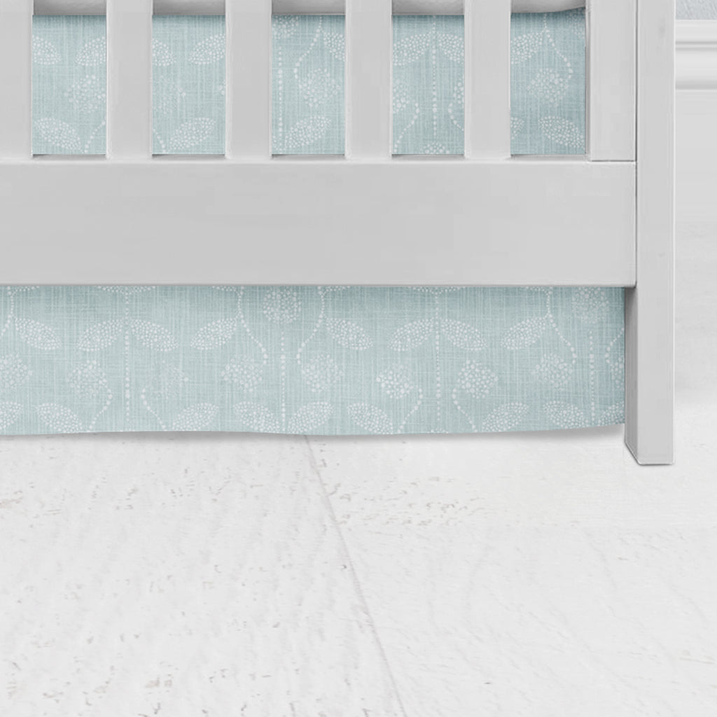 Waterbury Flat Panel Crib Skirt