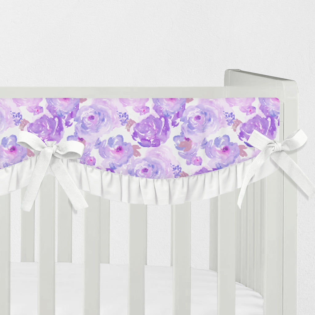 Ophelia's Orchids Crib Rail Cover