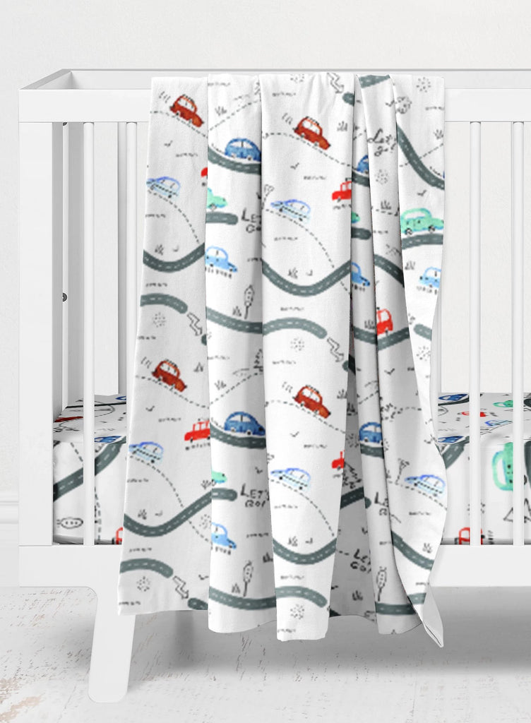 Rocco's Road Trip Crib Bedding