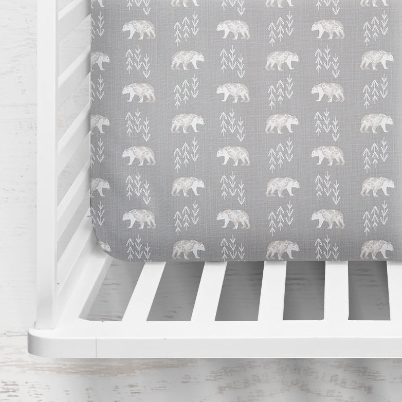 Cubby Bear Crib Sheet