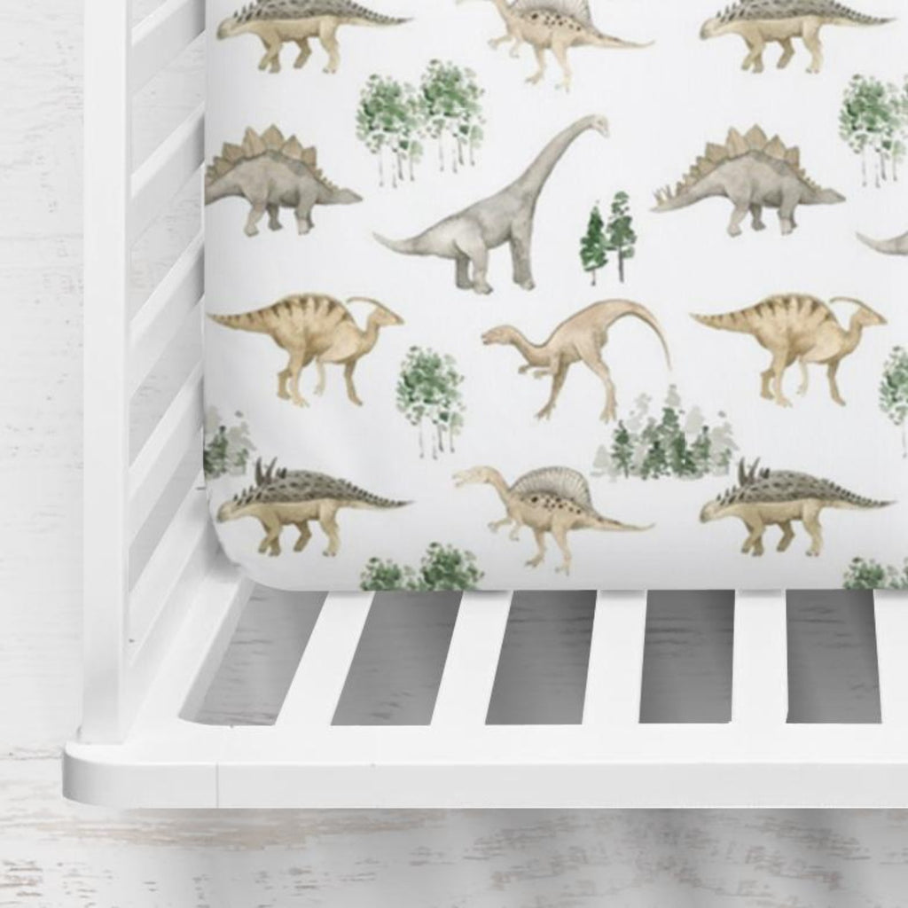 Delancy's Dinosaur Days Crib Sheet