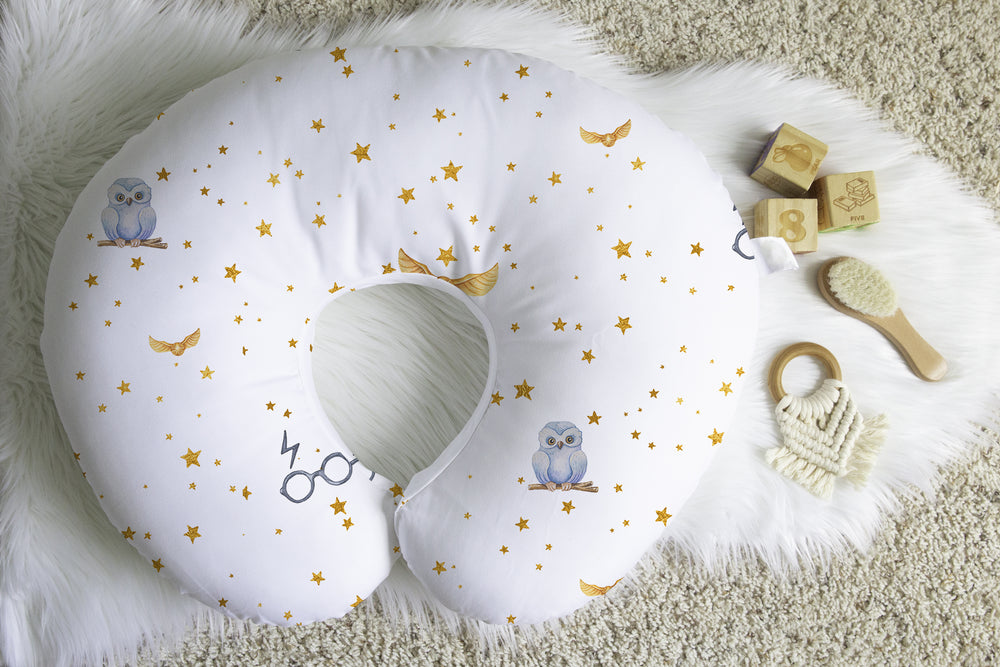 Grindelwald Golden Snitch Boppy® Nursing Pillow Cover