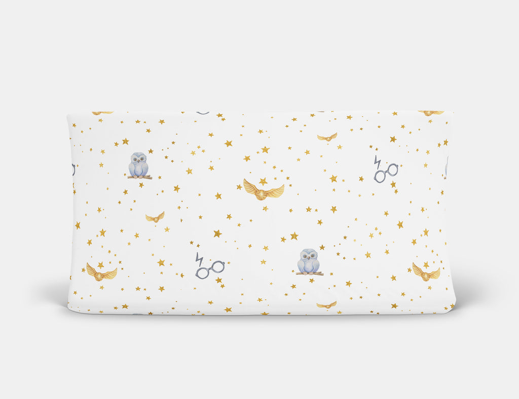 Golden Snitch Changing Pad Cover