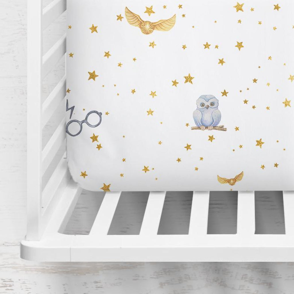 Golden Snitch Crib Sheet