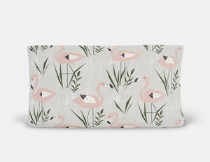 Ringo the Flamingo Changing Pad Cover