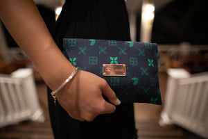 Koko Pacific Envelope Clutch - Ivy Green