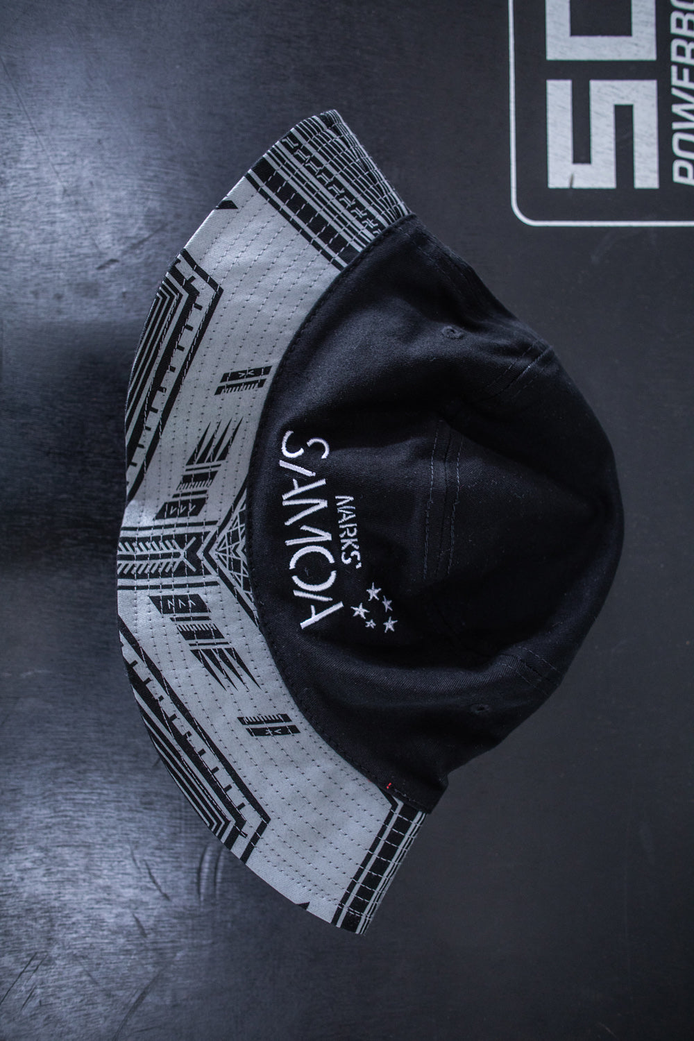 Marks` Samoa Core Logo Bucket Hat - Black