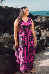 Malia Pacifique  - Margaret Maxi Dress