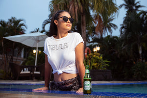 Koko Pacific | Taula Exclusive Collab Tee - White