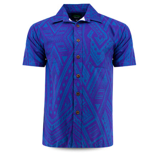 Eveni Pacific Men's Classic Shirt - Lyon Purple