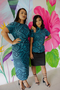 Eveni Pacific Kendall Maxi Dress - Notting Teal
