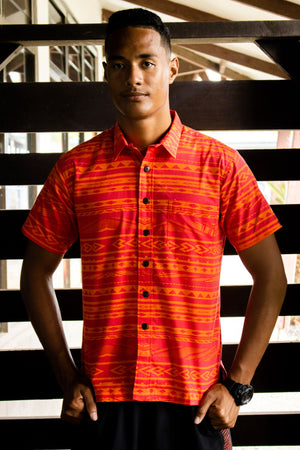 Eveni Pacific Men's Classic Shirt - De Orange