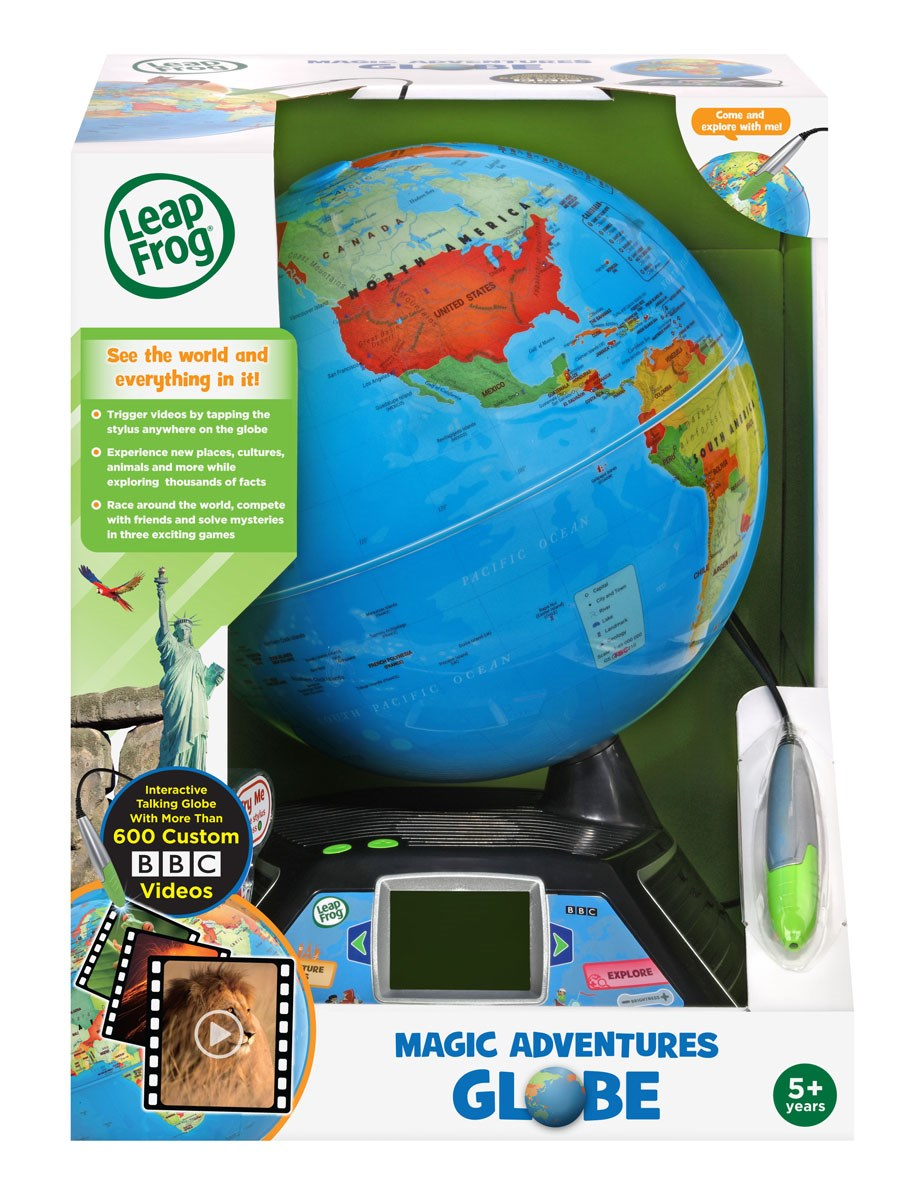 LEAPFROG INTERACTIVE LEARNING GLOBE