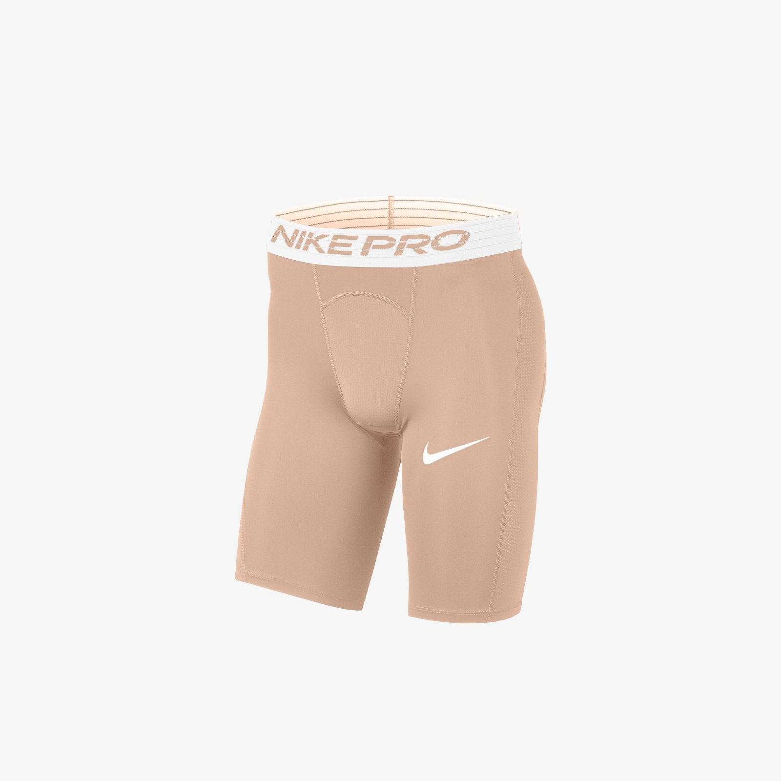 NIKE MEN PRO SHORT - SHIMMER WHITE
