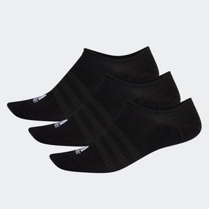 ADIDAS LIGHT NO SHOW SOCKS 3PP - BLACK