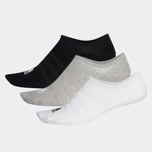 ADIDAS LIGHT NO SHOW SOCKS 3PP - DRY/WHT/BLK