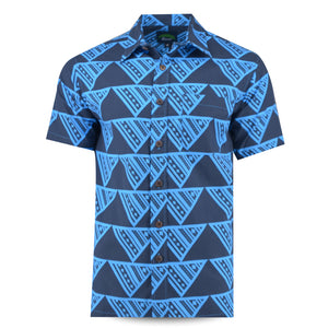 Eveni Pacific Men's Classic Shirt - Reef Blue