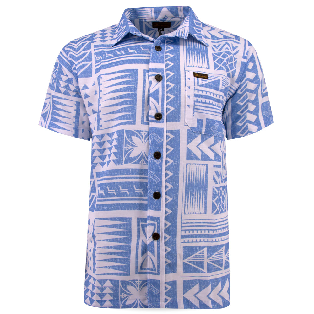 Koko Pacific Premium Custom Shirt - UNFORGETTABLE BLUE