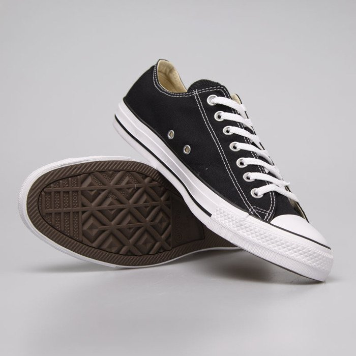 CONVERSE CORE CANVAS LOW BLACK