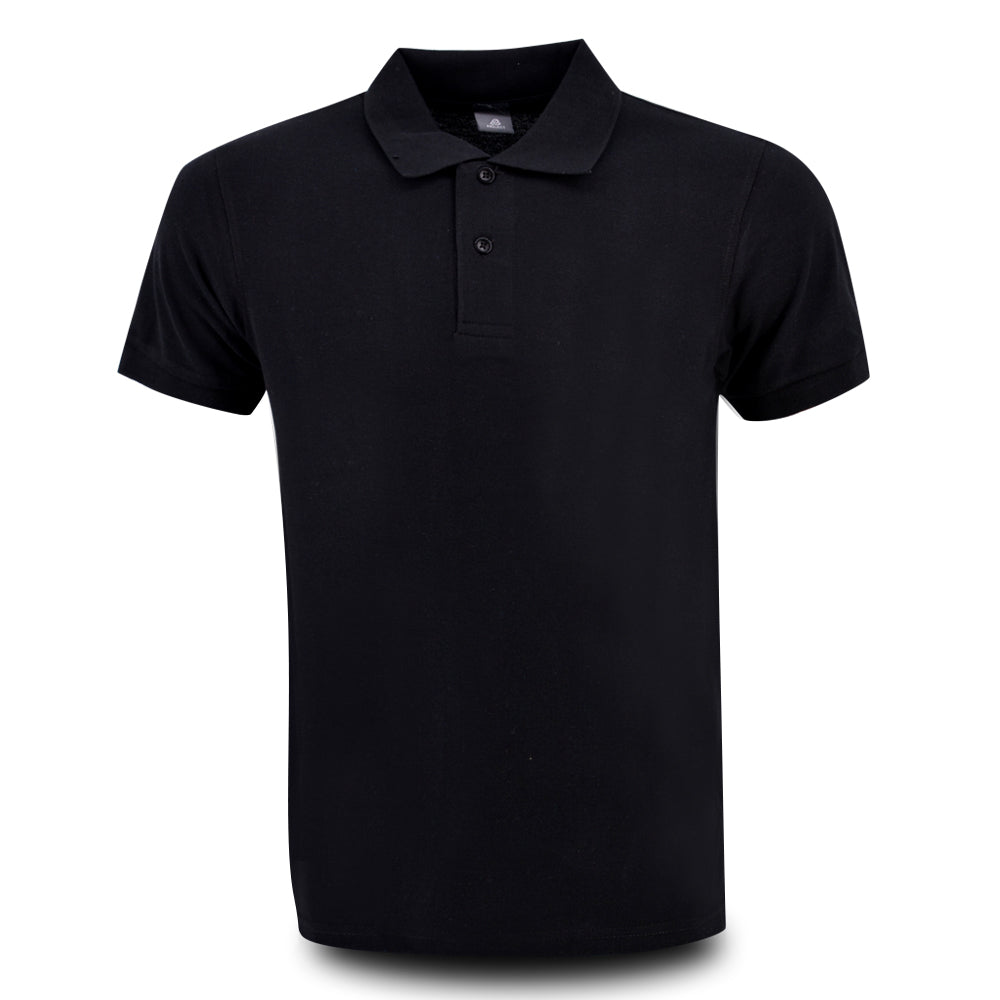MENS PROJECT POLO SHIRT BLACK