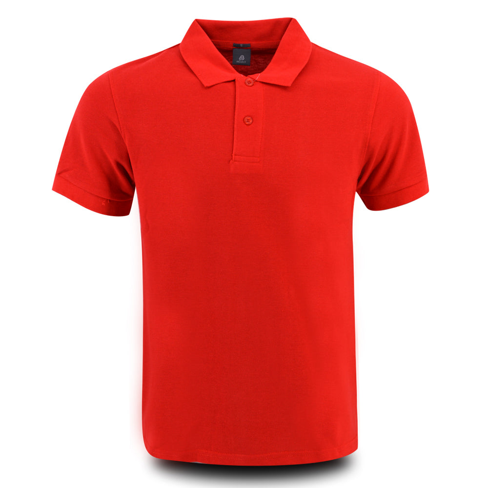 MENS PROJECT POLO SHIRT BRIGHT RED