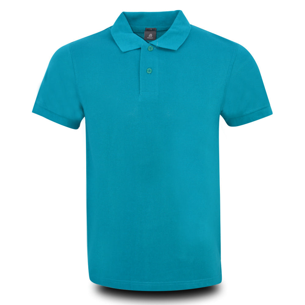 MENS PROJECT POLO SHIRT EMERALD